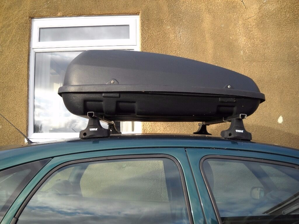 Car Roof Box (Halfords)