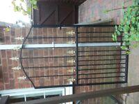Security Garden Gate, Metal