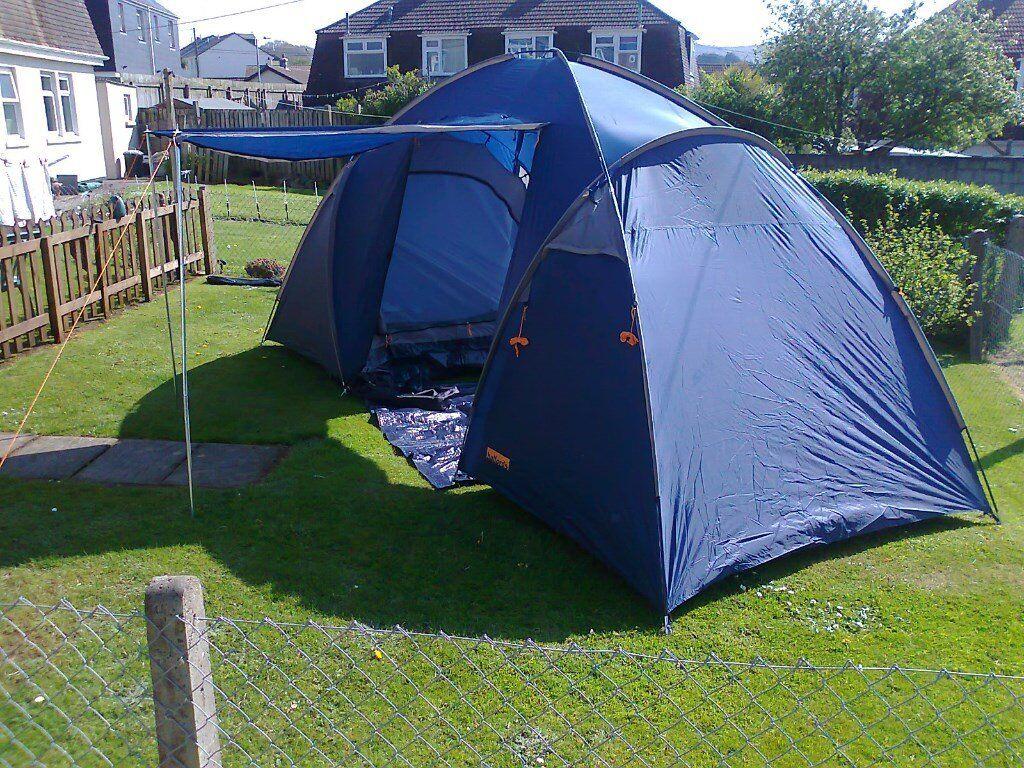 halfords 4 man tent & halfords 4 man tent | in Redruth Cornwall | Gumtree
