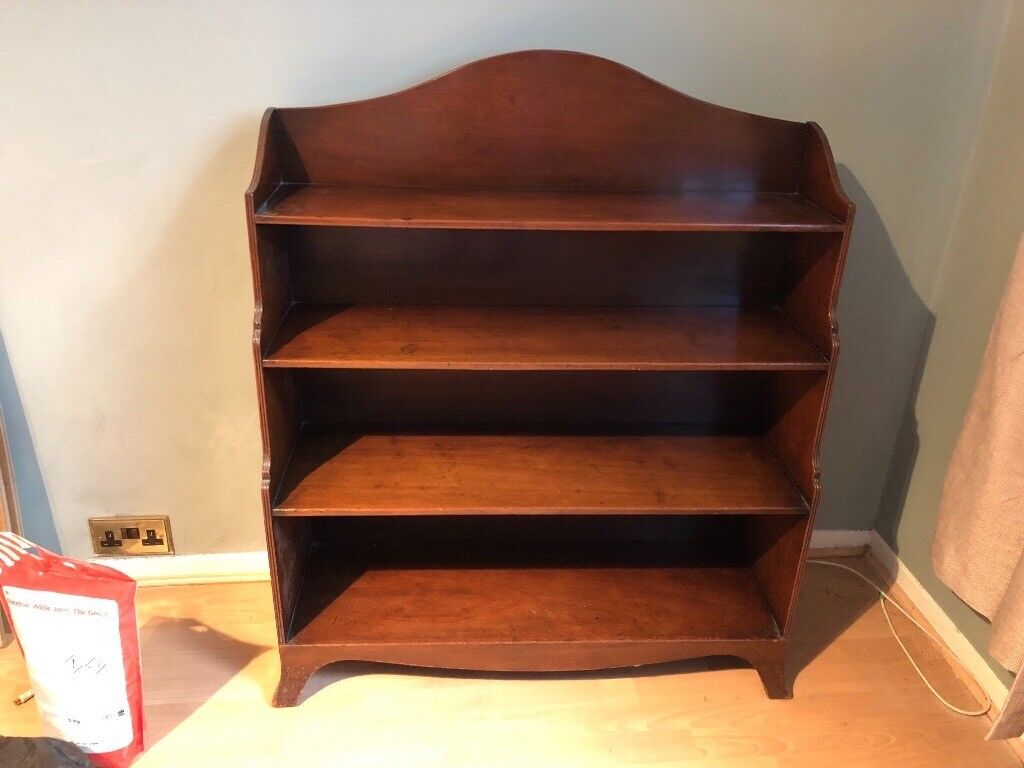 Waterfall Mahogany Wooden Antique Bookcase. Moving Urgent