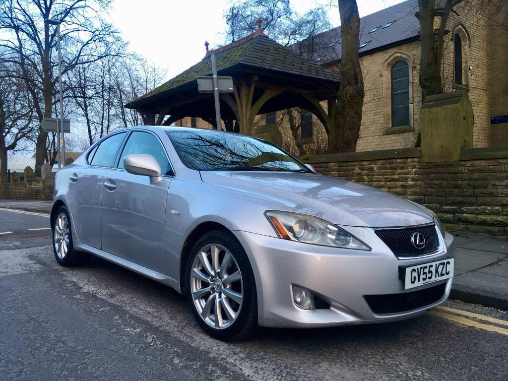 2005 Lexus Is250 Se Full Heated Leathers Solid Motor