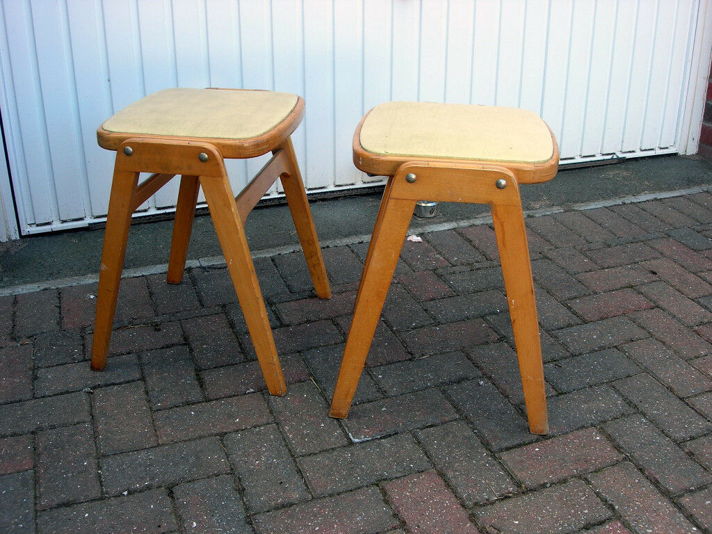 Groovy Baby Austin Powers Vintage, Retro 60u0027s Stacking Kitchen Stools.