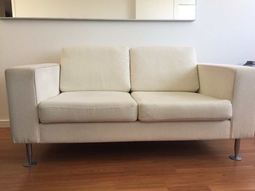 Bo Concept 2 Seater Sofa U0026 Matching Swivel Chair
