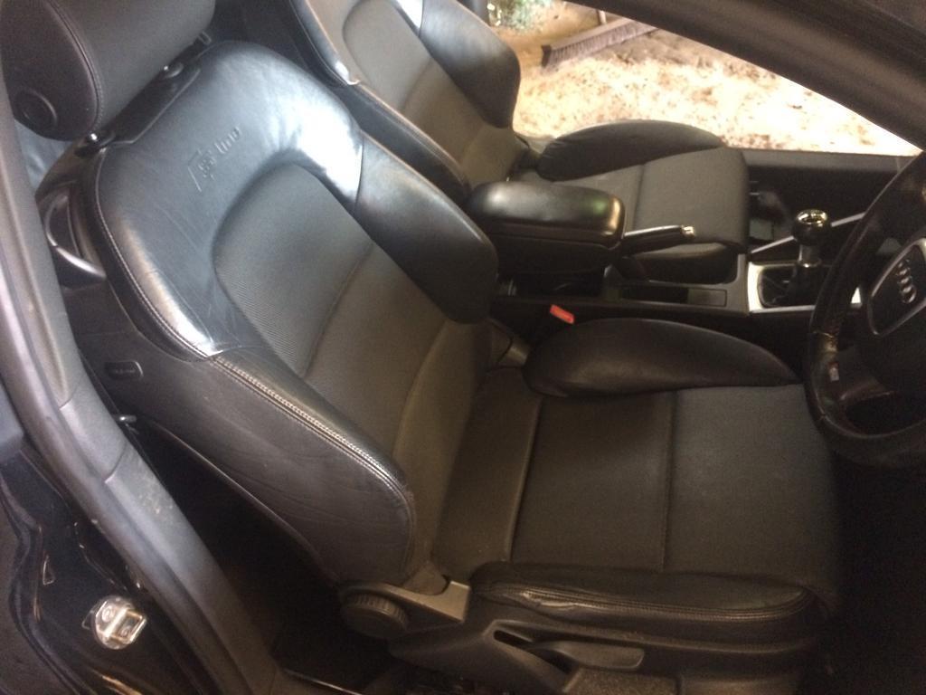 2006 Audi A3 S Line Half Leather Interior Seats Complete