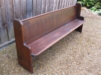 victorian church pews delivery possible more pews chapel chairs u0026 old pine furniture - Church Pews For Sale