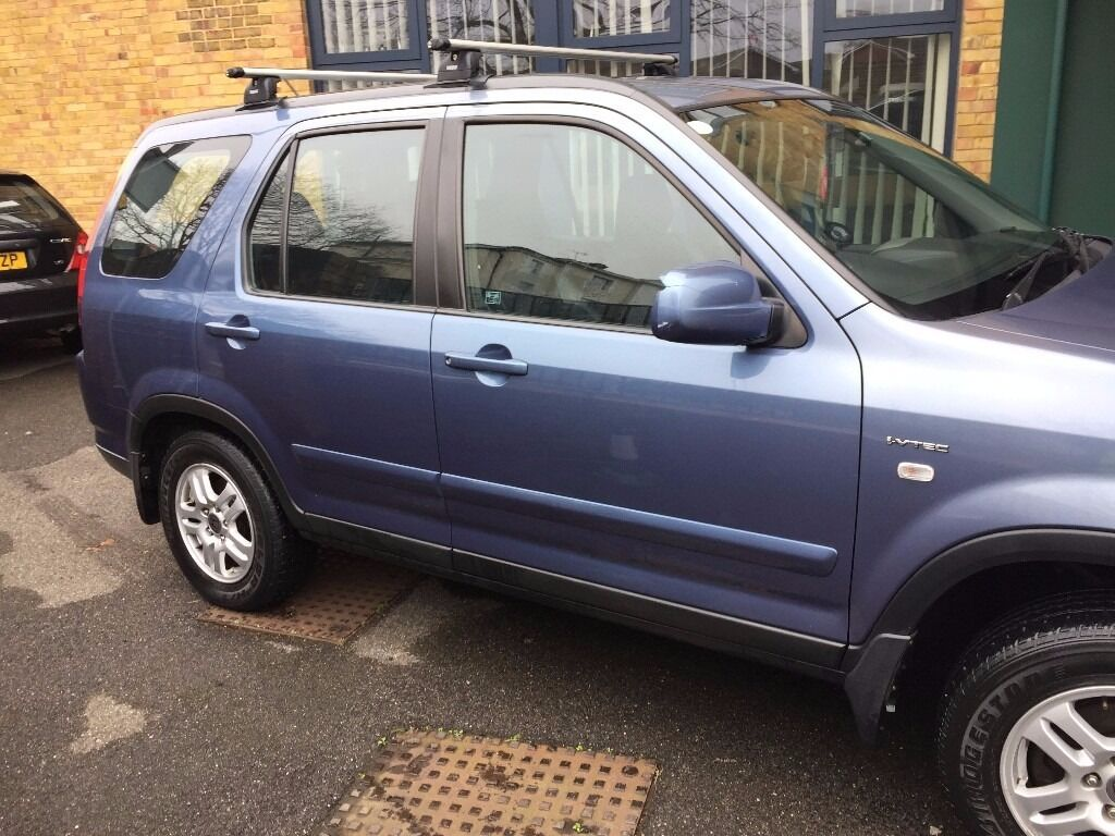For Sale My Honda Crv 2004 With Roof Rack And In Car Sat Nav