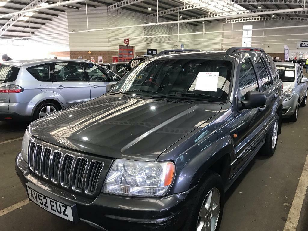 Jeep Grand Cherokee 2003 2.7 CRD OVERLAND ** AUTOMATIC ** 2 KEYS **
