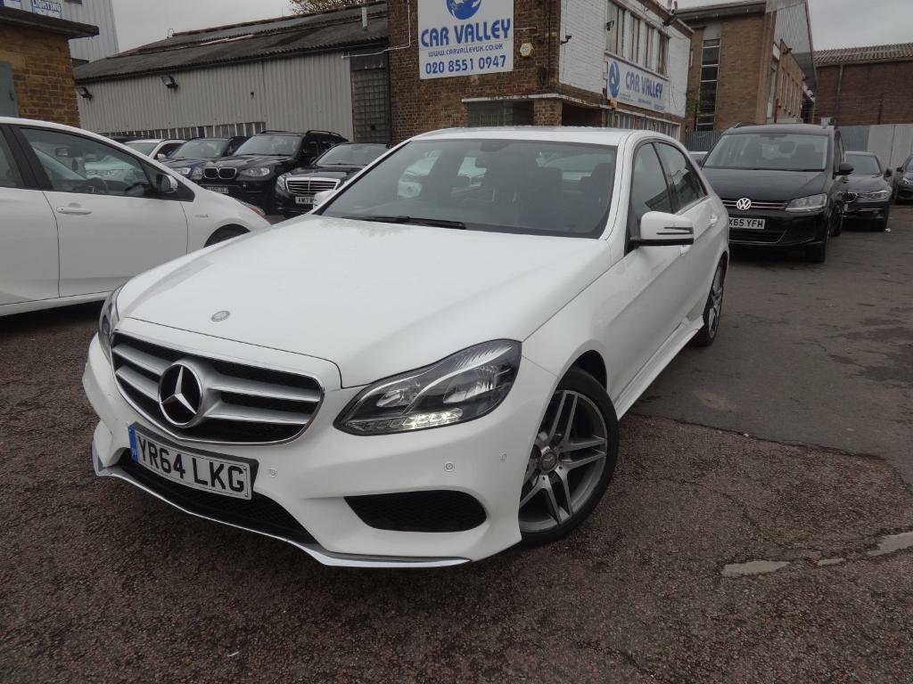 Mercedes Benz E Class E300 Bluetec Hybrid Amg Sport (white) 2014 | In  Woodford Green, London | Gumtree
