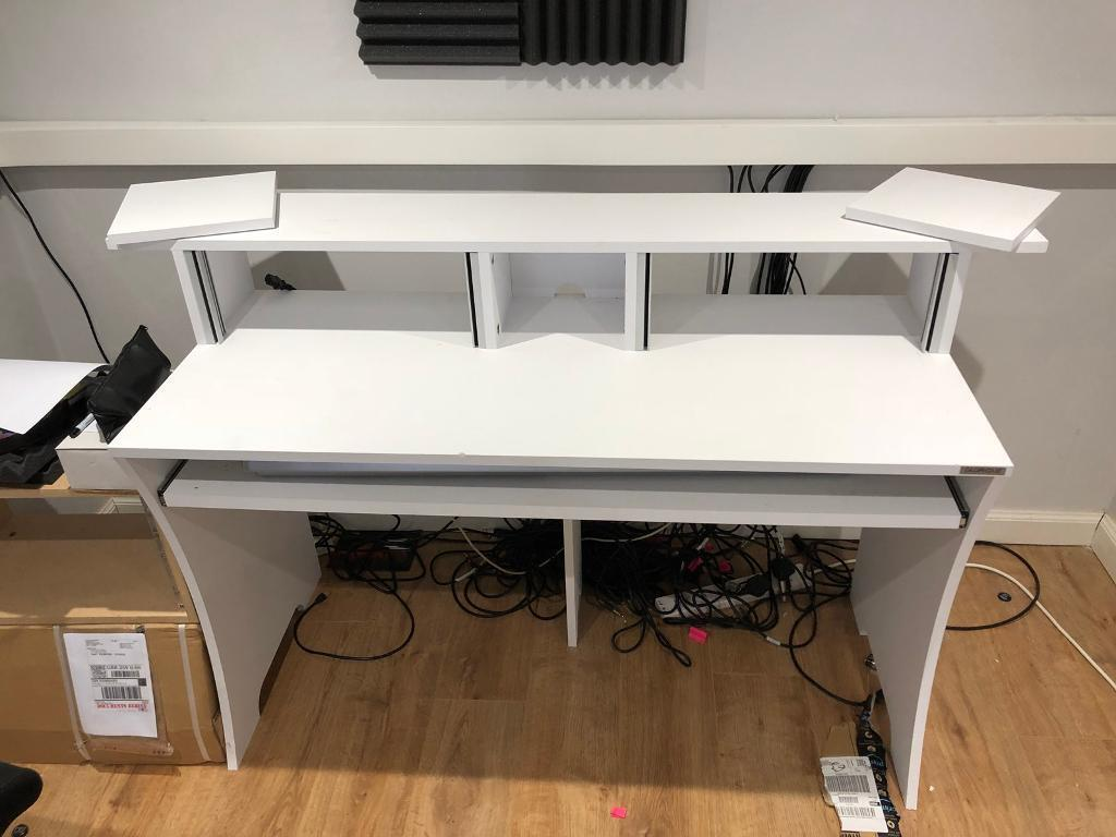 Studio Desk   Glorius Workbench White