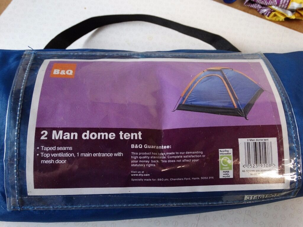 Bu0026Q 2 person Dome Tent & Bu0026Q 2 person Dome Tent | in Newtownards County Down | Gumtree