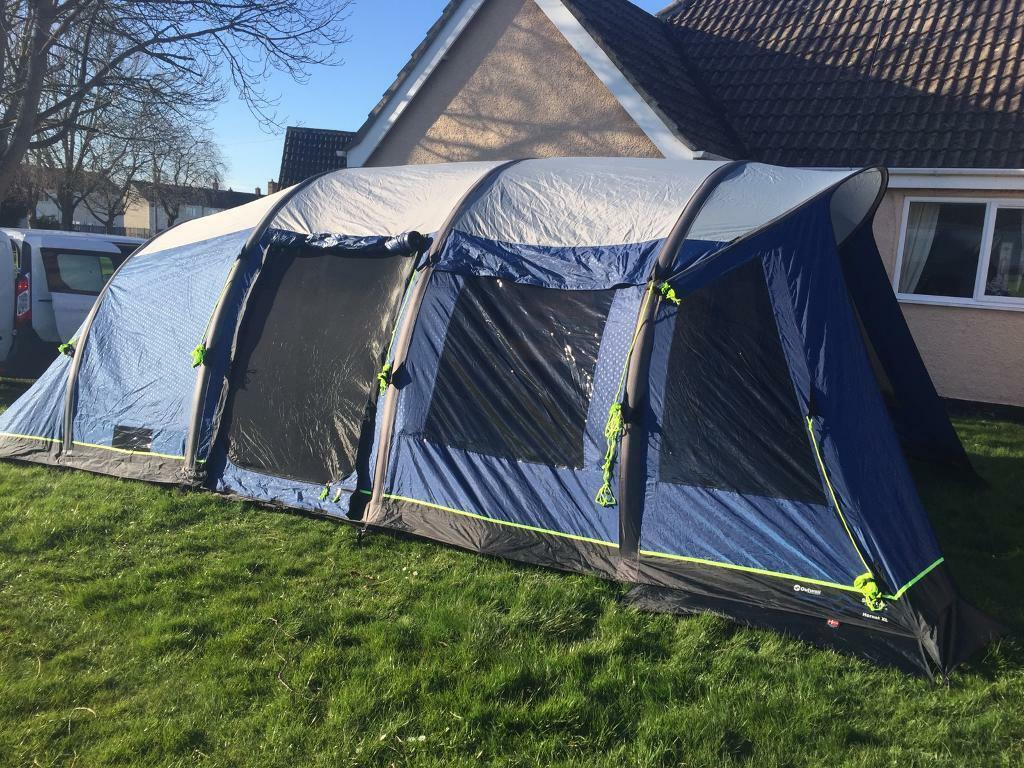 Outwell hornet xl 2015 smart air tent with footprint and carpet & Outwell hornet xl 2015 smart air tent with footprint and carpet ...