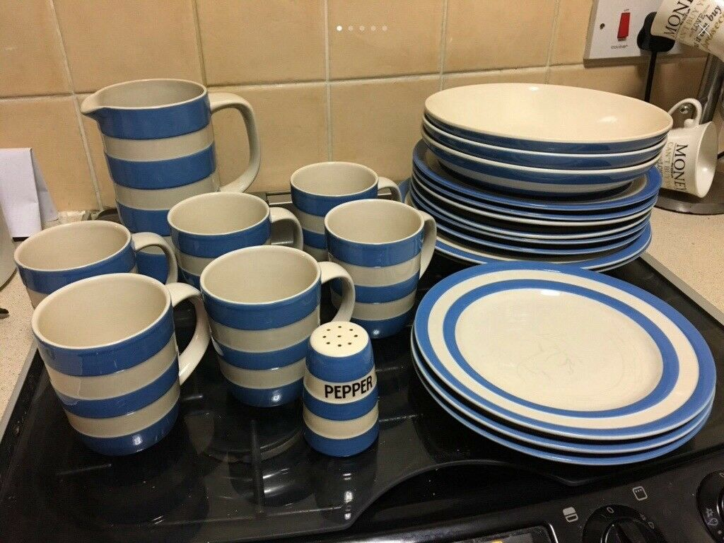 Genuine Cornish blue and white items & Genuine Cornish blue and white items | in Royston South Yorkshire ...