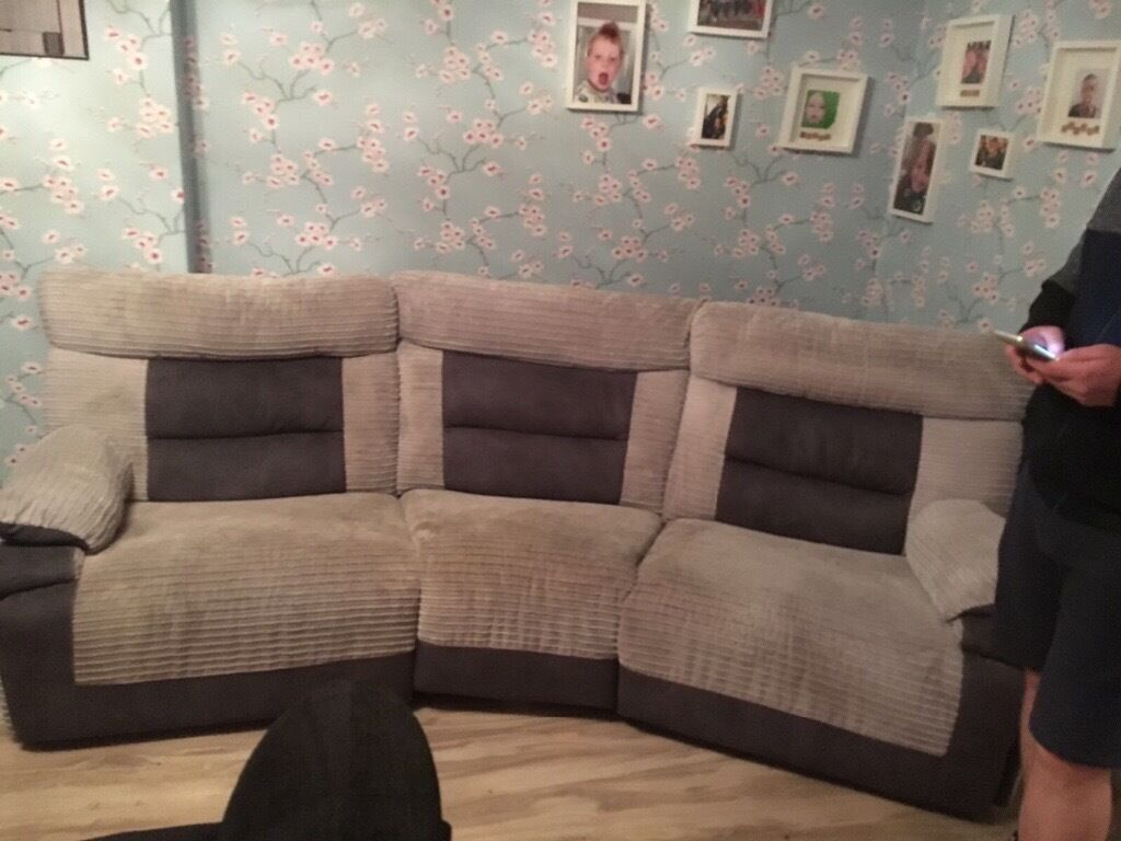 Grey SCS 4 seater Reclining sofa and Reclining chair & Grey SCS 4 seater Reclining sofa and Reclining chair | in ... islam-shia.org