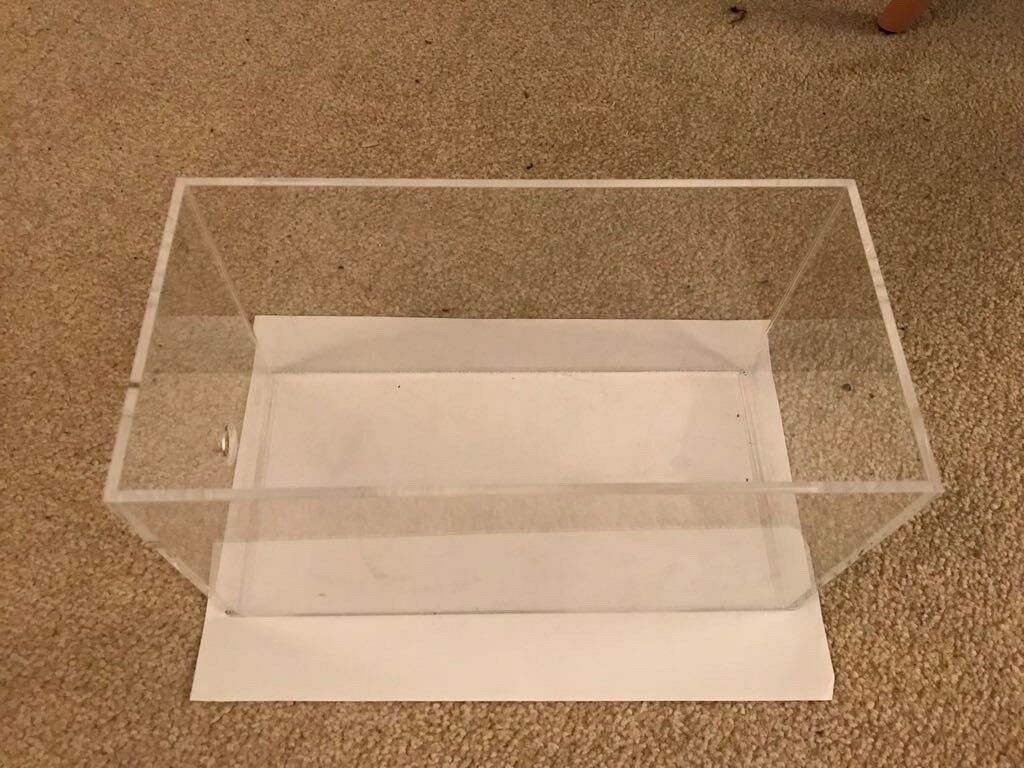 Plexiglass Storage Containers