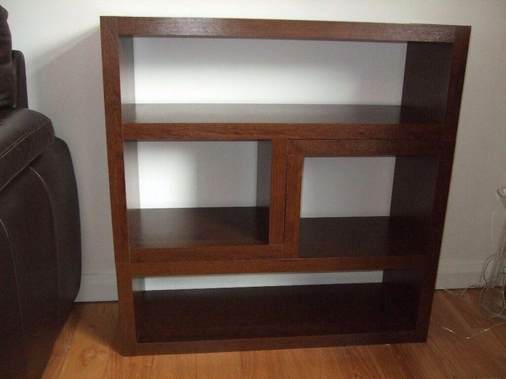 NEXT Opus Mango Furniture Nest Of Tables / High Drawer Unit / Display Unit