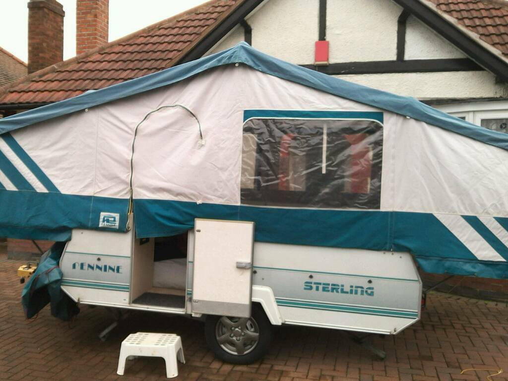 Pennine sterling trailer tent and awning & Pennine sterling trailer tent and awning | in Alvaston Derbyshire ...