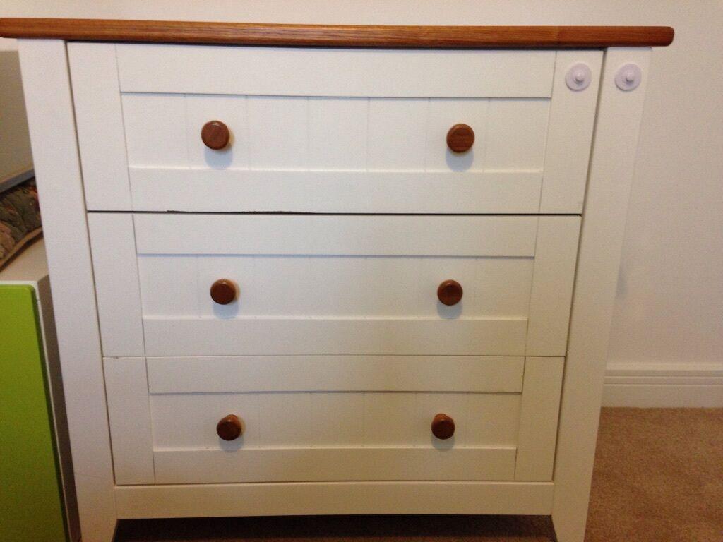 Mothercare Summer Oak Dresser/changing Table