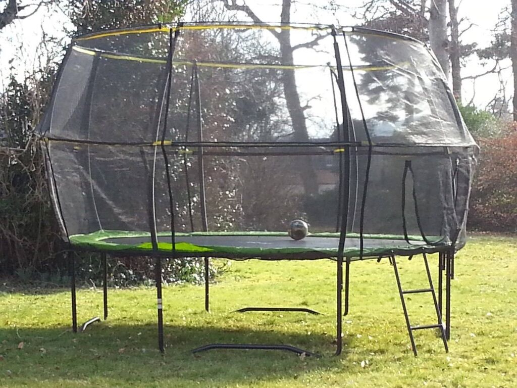 Rebo Halo II 12ft Base Jump Tr&oline & Rebo Halo II 12ft Base Jump Trampoline | in Banchory ...