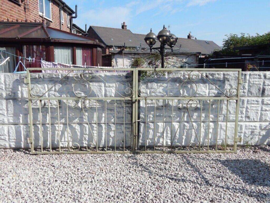 Wrought Iron Gates / Driveway Gates / Garden Gates / Metal Gates / Steel  Gates / Galvanised Gates | In St Helens, Merseyside | Gumtree