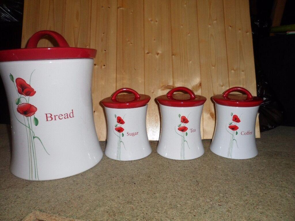 Dunelm Mill Poppy Kitchen Set