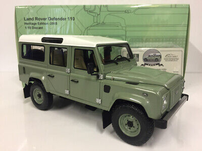Used, ALMOST REAL 1/18 Model Car Diecast Land Rover Defender 110 Heritage 2015 for sale  Shipping to Ireland
