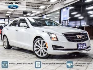2016 Cadillac ATS Luxury Collection 3.6 AWD, Roof,Heated Steerin