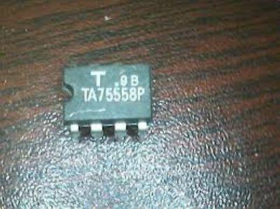 Toshiba Ta75558p Dip-8 Dual Operational Amplifier