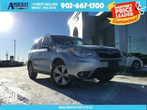 2015 Subaru Forester TOURING - MANUAL, SUNROOF, BACKUP CAM
