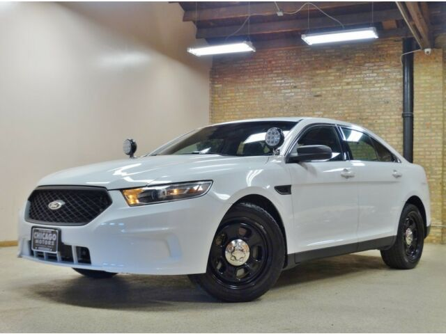 2013 ford police interceptor awd ecoboost turbo rare white only 45k miles used ford taurus. Black Bedroom Furniture Sets. Home Design Ideas