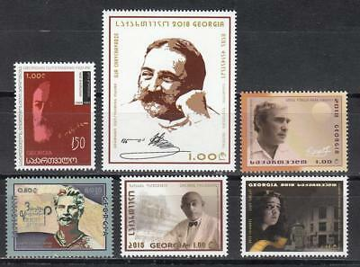 Georgien 12 (Georgia Georgien MNH** 2018 Mi. 703,4,5,8,11,12 Lot single stamps)