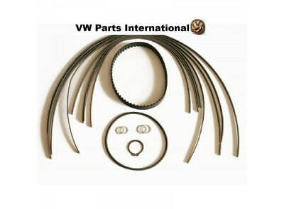 VW Golf Polo G40 G60 Rallye Supercharger Apex Seal Strips & Wide Toothed Belt