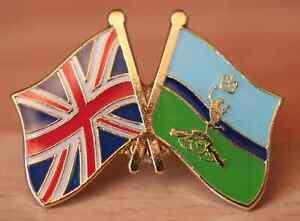UK & Royal Signals Friendship Pin Badge