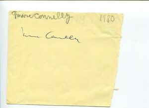 Marc-Connelly-Playwright-Lyricist-Pulitzer-Prize-Drama-Rare-Signed-Autograph