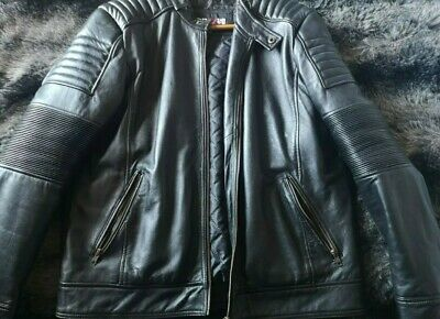 Men's XXL Leather Bike Jacket