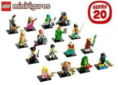 Lego Minifigures Series 20 Complete Set