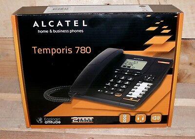 Haus & Büro Telefon Alcatel Temporis 780 ultraprofessionell schnurgebunden Black