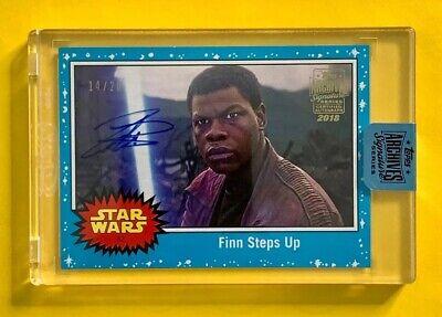 John Boyega as FINN AUTOGRAPH Star Wars Archives Signatures auto serial #/26