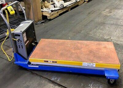 Vestil 1500lbs Portable Lift Table