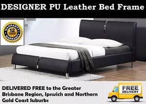 QUEEN Size PU Leather Bed Frame. BRAND NEW and DELIVERED FREE New Farm Brisbane North East Preview