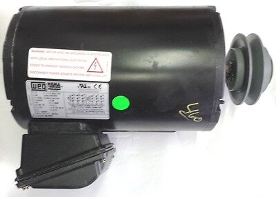 Weg 2180t3e145ts 2hp 3ph 1740rpm 208-230460v 1435t Drp Proof Electric Motor