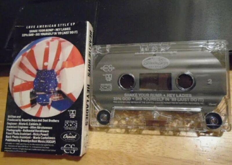 Beastie Boys Hey Ladies Cassette With Paper Case RARE
