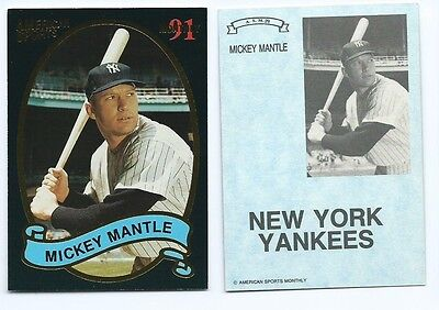 Issue Mickey Mantle - Mickey Mantle 1991 91 American Sports Monthly Issue