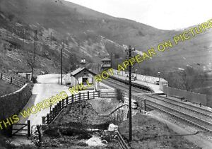 Monsal Dale Railway Station Photo. Great Longstone - Miller's Dale. Buxton Line