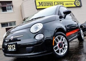 2012 Fiat 500 Pop! MANUAL! Cruise+Blue&Me! ONLY $81/bi-weekly!