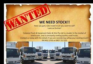 TRUCKS WANTED Beckenham Gosnells Area Preview