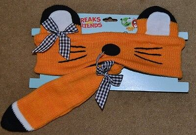 Freaks and Friends FOX Headband & TAIL  Winter Adult One Size Costume Halloween](Fox And Friends Halloween Costume)