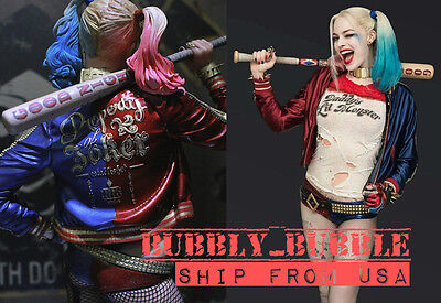 1/6 Harley Quinn Suicide Squad Baseball Bat For Phicen Hot Toys SHIP FROM USA