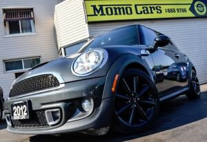 2012 MINI Cooper S! MANUAL+Htd Seats+Leather! ONLY $119/bi-weekl