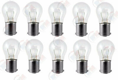 - 10x 1156 12v Light Bulb Auto Car Brake Stop Signal Turn Reverse Tail Lamp S8 Lot