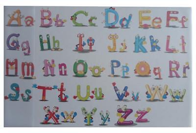 e 58,5x38,5cm / mit Alphabet